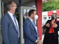 Besuch Holetschek (Mainpost Hr. Hein) 15